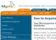 Sun kauf mySQL